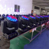 Stadiums-Beleuchtung B-Auge K10 RGBW beweglicher Kopf des Summen-19X15W LED