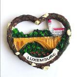De hart Gevormde Magneten van de Koelkast van Rsein van de Herinnering van de Toerist van Duitsland