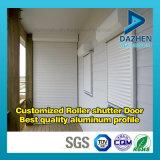 Profil en aluminium en aluminium d'extrusion pour le guichet personnalisé de porte d'obturateur de rouleau
