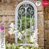 Espejo del hierro labrado usando para el jardín