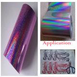 Clinquant d'estampage chaud pourpré pour le papier/le textile/tissus/plastiques en cuir