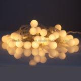 Lichten 30 van het Koord van de Fee van de Bal van de Decoratie van de slaapkamer Witte LEDs