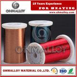 床暖房ケーブルのためのエナメルを塗られたResistaneの暖房ワイヤーかCuNi2 CuNi6 CuNi23 CuNi30
