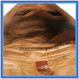 Sac occasionnel de papier matériel neuf de sac à dos de Dupont personnalisé par usine, sac d'épaule de papier de Tyvek de promotion double avec la courroie réglable