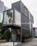 Barra de café portable/casa móviles prefabricadas del bajo costo/prefabricadas