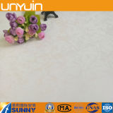 Tuile blanche de vinyle de PVC de plastique de platine brillant