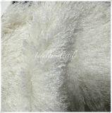 Longue fourrure bouclée de Faux de pile/fourrure fausse pour des vêtements