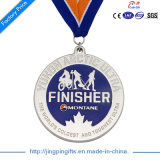 Medalla de encargo de la concesión de la alta calidad del OEM de 2016 fuentes para los ganadores del deporte