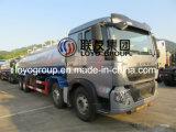 De Tankwagen van de Olie van het Aluminium van Sinotruk HOWO T5g 25000L 8X4