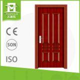 Panel-Innenwohnzimmer-Holz-Türen des einfachen Entwurfs-2