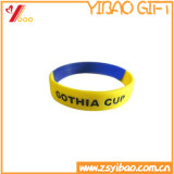 Logo Promontional personnalisé de haute qualité Bracelet en caoutchouc à main / bracelet en silicone