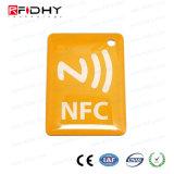 Etiqueta de epoxy clásica de MIFARE 4k NFC para hacer publicidad