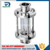glas van het Gezicht Triclamp van het Roestvrij staal van 25.4mm het Sanitaire Hygiënische met de Koker van de Bescherming