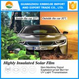 Автомобиля пленки автомобиля изоляции высокой жары пленка подкраской окна солнечного франтовская