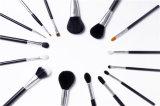 Cepillos al por mayor del maquillaje de la herramienta de los cosméticos 15PCS disponibles para la insignia privada