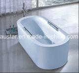 TERMAS autônomos da banheira da elipse de 1700mm para o projeto do hotel (AT-9059)