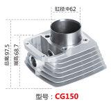 Motorrad-Zylinderblock, Motorblock, Cg150 Titan, Ft150, Vc150 Gilera Zanella, (Schwarzes CG150)