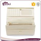 Длинняя тонкая кожаный кожа PU бумажника портмона портфолиа бумажников женщин