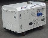 Generatore diesel portatile del fornitore con esperienza di monofase di CA del bisonte (Cina) BS15000dse 11kw 11kVA in Francia