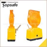 Мигающего огня света безопасности солнечное (S-1317)