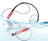 Tipo elevado fone de ouvido da colar da qualidade do som de Bluetooth com Mic