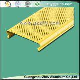 Het uitstekende c-Gevormde Aluminium van het Plafond van het Metaal sloot Lineair Plafond