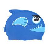 最も新しい販売は子供のシリコーンの水泳の帽子をカスタム設計する