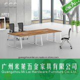 Muebles de la mesa de reuniones de la oficina del marco del escritorio del metal del diseño moderno