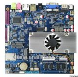 Typen Top2550 des Laptop-Motherboards, Bord2* Sataii /8 * USB2.0 /6 * COM /1 *Msata/1X ND-Turbine