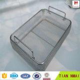 殺菌の価格のためのステンレス鋼の金網のバスケットの皿