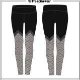 Forma fisica stampata Legging riflettente comodo di usura di sport delle donne