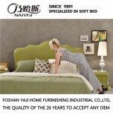 نمو [دووبل بد] تصميم حديثة غرفة نوم أثاث لازم جلد سرير ([غ7006])