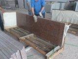 Lajes vermelhas do granito do bordo de G562 China para o monumento da lápide das bancadas da cozinha