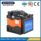 Equipo óptico de fibra de la encoladora de la fusión