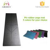 Выскальзование Циновки-Non йоги PU циновки 1/5-Inch йоги верхнего сегмента экстренные толщиное кожаный и прочно, циновка для йоги, танцулька, Pilates & пригодность