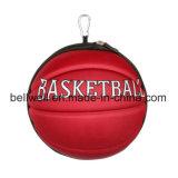 Saco de dobramento do curso com forma do basquetebol