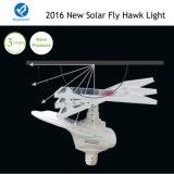 Lumière solaire solaire de faucon de mouche de réverbère du modèle 2016 neuf