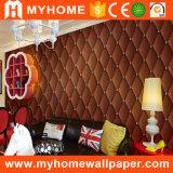 Papier peint 2017 à la maison neuf de PVC 3D de matériau de décoration de la Chine