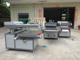 Máquina UV da extremidade da máquina de impressão da tela com braço robótico