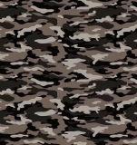 Tela do poliéster camuflar da impressão para sapatas militares dos sacos de vestuário
