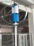 12V/24V 400W vertikaler Wind-Turbine-Generator-Installationssatz mit MPPT Controller