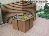 耐火性の木製のプラスチック合成の庭の植木鉢