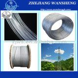 Веревочка стального провода 7/0.7mm кабеля стренги стального провода высокого качества стальная для делать оптически кабель