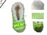 أربعة لون [ستريبد] جسيم مغزول أحذية داخليّة ([ر-سل1610])