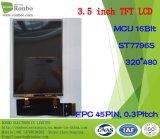 "3.5 "" панель 320X480 MCU 16bit 45pin LCD, экран касания варианта"