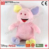 Cerdo rosado lindo colorido de los animales rellenos de China