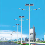 luces de calle solares del brazo doble 20W-100W