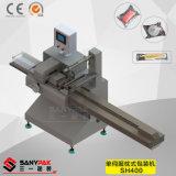 Empaquetadora horizontal conducida serva del precio bajo para los productos sólidos y regulares