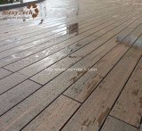 Decking de madera de la prueba WPC Ipe del rasguño del grano de la alta calidad barata para el suelo