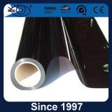 Ventana de coche metálica negra del material 1.5mil el 15% del poliester que teñe la película
